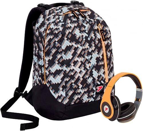 Backpack reversible Seven The Double grau Brick