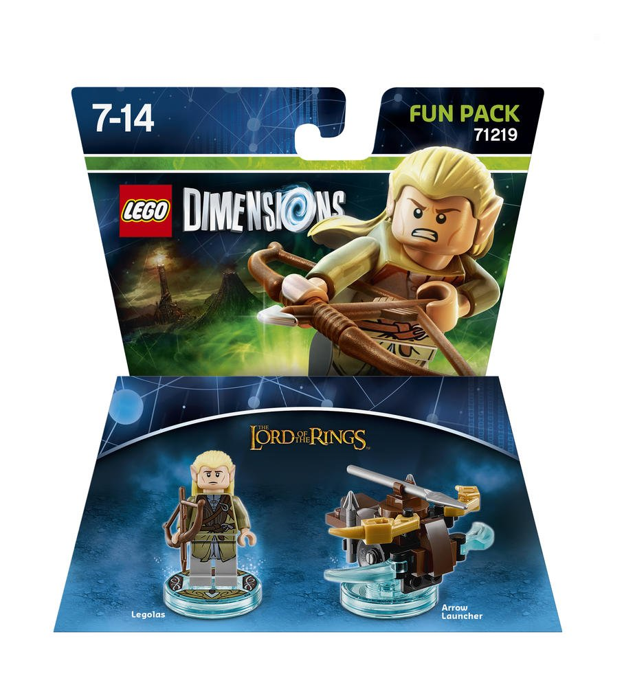 Warner - EGO Dimensions Fun Pack: SDLA Legolas: Lord of the Rings ...