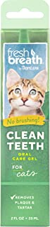 Fresh Breath by TropiClean No Brushing Clean Teeth Dental & Oral Care Gel for Cats, 2oz - Made in USA