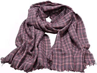 ANCHOVY Women Long Winter Scarf Pashmina Shawl Wrap Warm Check Scarf S006