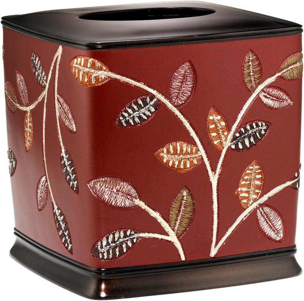 Popular Bath Aubury Burgundy Price reduction Long-awaited Tissue Box