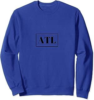 Atlanta Print Hip Hop Hometown Pride Vintage Sweatshirt