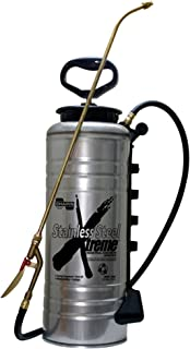 Chapin 19069 3.5-Gallon Xtreme Stainless Steel Concrete Open Head Sprayer for Professional Concrete Applications (1 Sprayer/Package)