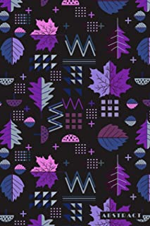 Abstract: Scandinavian Nordic Leaf Pattern 2020 Planner Calendar Daily Weekly Monthly Organizer