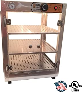 HeatMax 181824 Food Warmer Display, Pizza Warmer