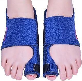Corrector de juanetes, 2 piezas de separadores de juanetes y dedos de los dedos de los pies grandes, para alivio de juanetes, de noche