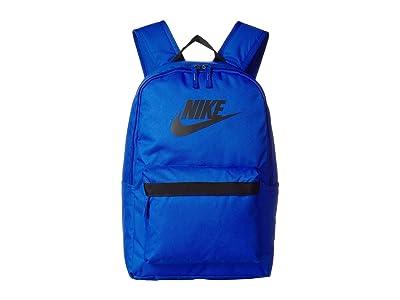 Nike Heritage Backpack 2.0 (Game Royal/Game Royal/Black) Backpack Bags