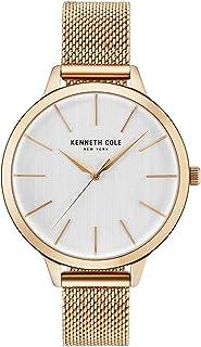 ad1da09135b5 Kenneth Cole Reloj Analógico para Mujer de Cuarzo con Correa en Acero  Inoxidable KC15056014