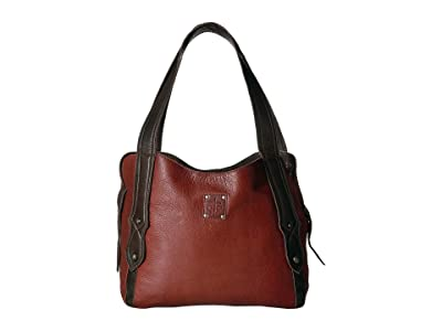 STS Ranchwear Combo Purse (Red/Brown) Handbags