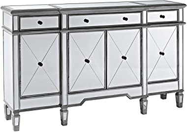 "60"" Mirrored Reflection Andrea Hall Console Cabinet Model DH-695"