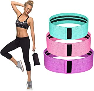VERONNI Resistance Bands for Legs and Butt Resistance Loop Bands Booty Bands Hip Glute Bands Exercise Fitness Bands for Ho...