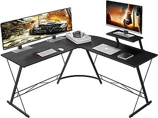 "MiniDeer L-Shaped Desk 50.8"" Computer Corner Desk, Home Gaming Desk, Office Writing Workstation with Large Monitor Stand, ..."