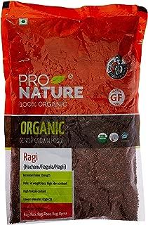 Pro Nature 100% Organic Ragi Millet, 500 g