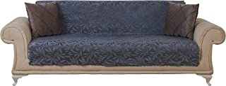 Chiara Rose Couch Covers for Dogs Sofa Cushion Slipcover 3 Seater Furniture Protectors Futon Cover, Sofa, Acacia Smoke