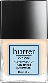 butter LONDON Sheer Wisdom Nail Tinted Moisturizer, Fair