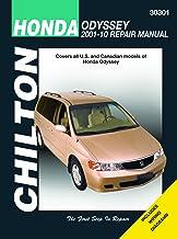 Honda Odyssey (Chilton): 2001-10