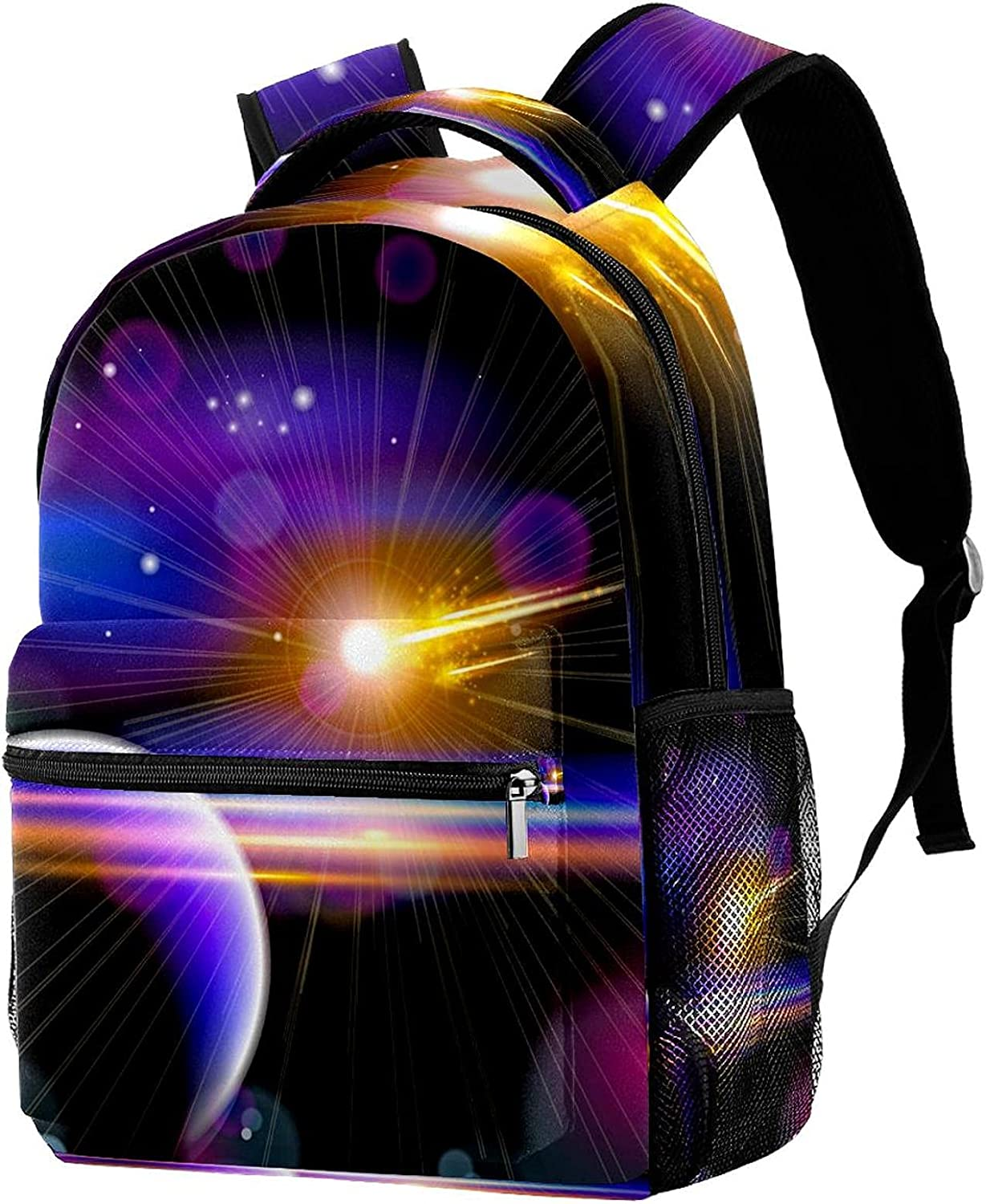 Galaxy Cosmos Opening large release sale Background Backpack Shoulder Travel Selling and selling Bags Students