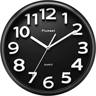 Plumeet Large Wall Clock, 13