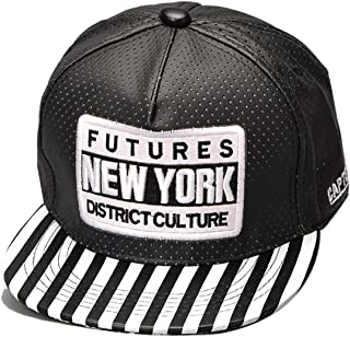 Thenice womens Hip-Hop letter Leather Hats Baseball Cap