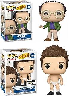 Best Side Kicks in The Biz: Seinfeld Funko Pop! Television Bundle - Kramer (Underwear) Amazon Exclusive 1090/ George 1082...