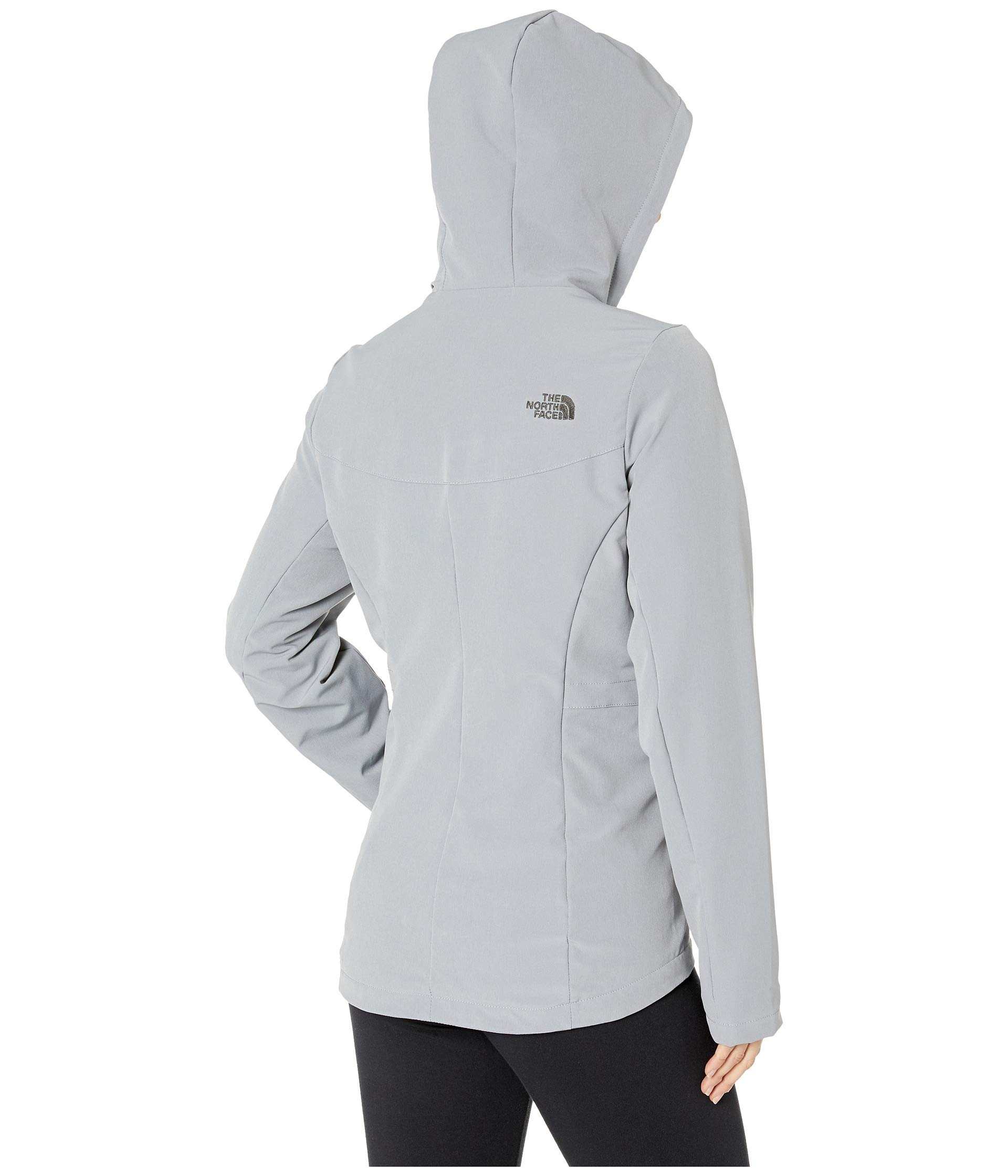 North The Mid Raschel Grey Hoodie Face Shelbe 10a6x1