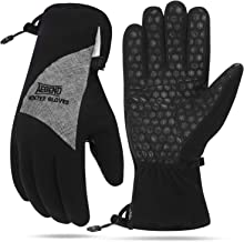 Aegend Winter Gloves, Waterproof Thermal Gloves Men Women for Cold Weather