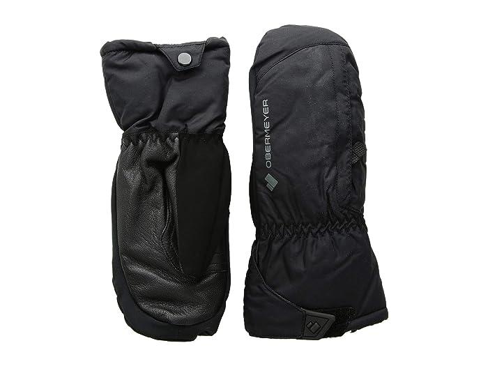 Obermeyer Kids Molten Mitten (Little Kids/Big Kids) (Black) Extreme Cold Weather Gloves