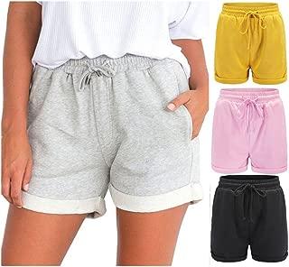 Women Hot Pants Casual Loose Shorts Beach High Waist Short Trousers