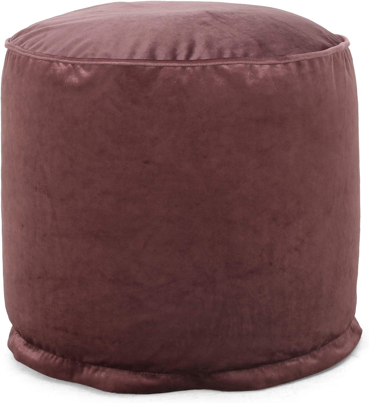Christopher Knight Max wholesale 71% OFF Home Gwinnett Blush Pink Pouf