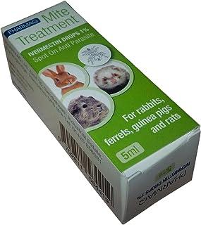 PHARMAQ Ivermectin Drops 1% 5ml - Mite Treatment for Small Furries