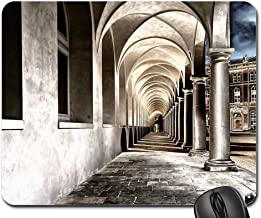 cloister monastery courtyard dresden gang vault