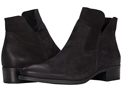 Paul Green Boston Boot (Black Sport Nubuck) Women