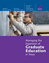Managing the Expansion of Graduate Education in Texas