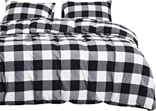 black cotton duvet set