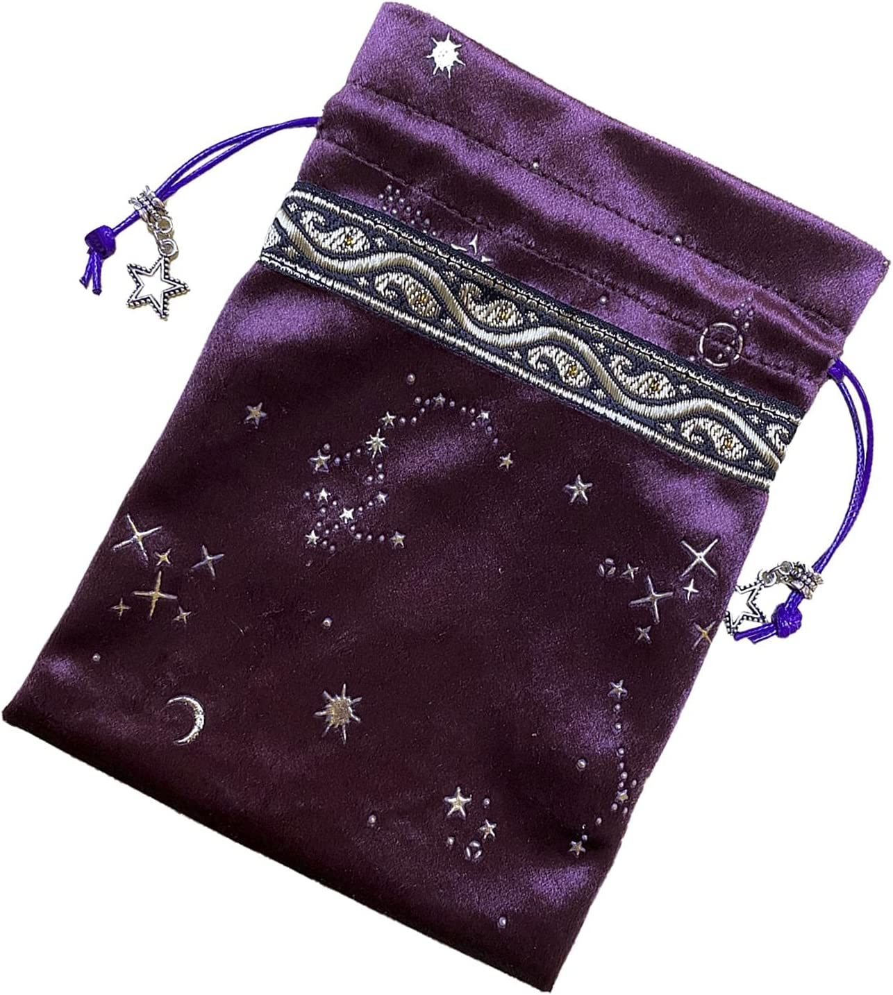 YOOSA Tarot Choice Storage Bag Flannel Magic Pat Outlet ☆ Free Shipping Mysterious Divination