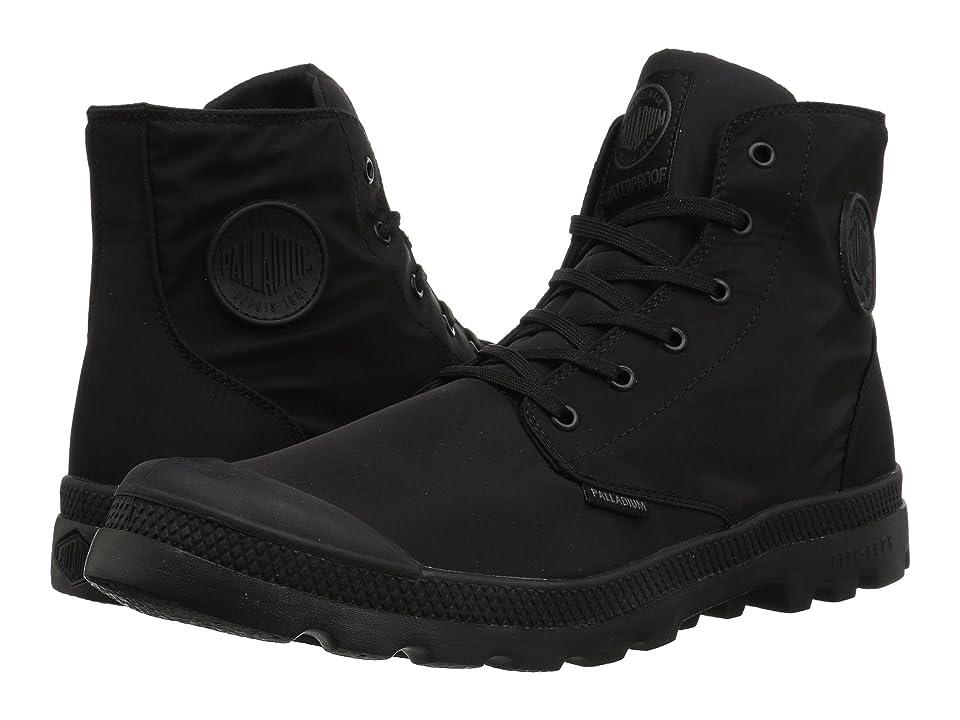 Palladium Pampa Puddle Lite Water Proof (Black/Black) Lace-up Boots