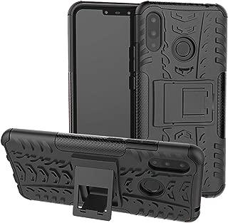 Huawei Nova 3i / P Smart+ Plus Case,Labanema Heavy Duty Shock Proof Rugged Cover Dual Layer Armor Combo Protective Hard Case Cover for Huawei Nova 3i / P Smart+ Plus(Not fit Huawei P Smart) - Black