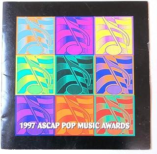 Bernie Taupin Signed Autographed Award Program 1997 Pop Music JSA II23331