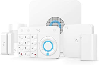 Ring Retrofit Alarm Kit with Ring Alarm 5 Piece kit, existing wired security system required, professional installation recommended
