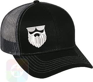 hat with beard logo