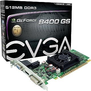 EVGA 512-P3-1300-LR GeForce 8400 GS 512 MB DDR3 PCI Express 2.0 Tarjeta gráfica DVI/HDMI/VGA