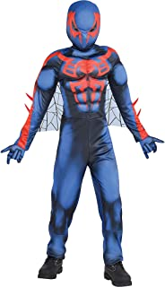 Spider-Man 2099 Muscle Halloween Costume for Boys, Medium, Includes Accessories