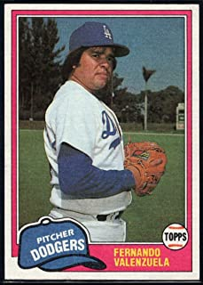 Baseball MLB 1981 Topps Traded #850 Fernando Valenzuela Dodgers