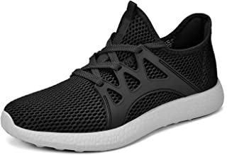 finest selection cadb2 c629d QANSI Womens Running Shoes Breathable Lightweight Walking Fashion Sneakers