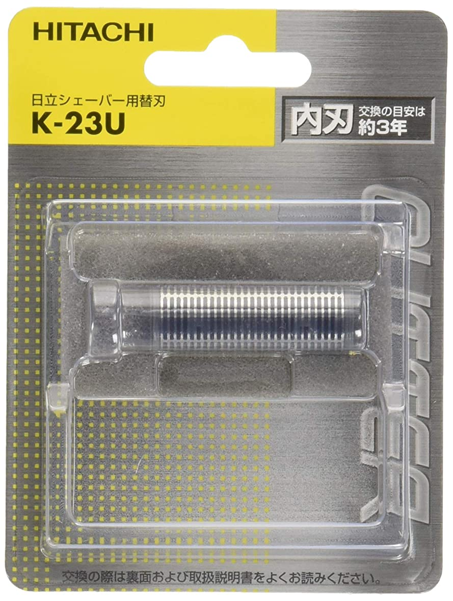 付き添い人ステレオ繁栄する日立 メンズシェーバー用替刃(内刃) K-23U