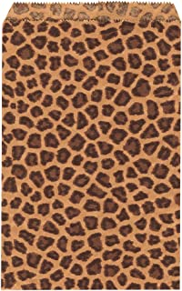 Ikee Design 200 pcs Leopard Paper Gift Bags Shopping Sales Bags 6