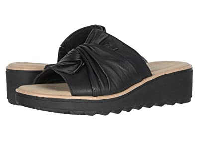 Clarks Jillian Leap (Black Leather) Women