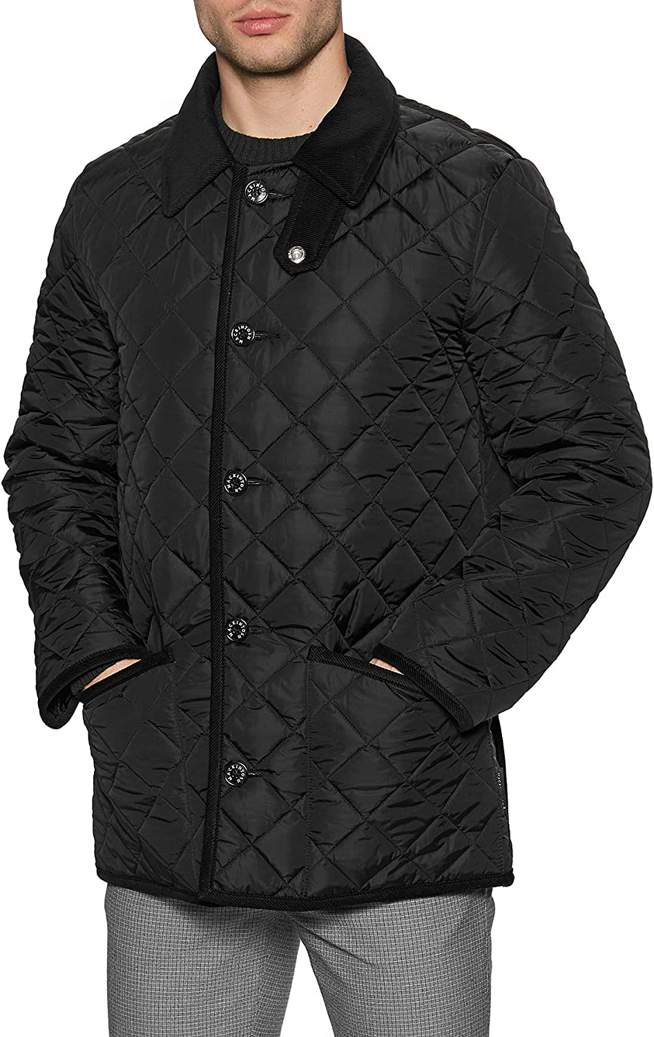 Mackintosh Waverly Gq-1001 Quilted Jacket 40 inch Black