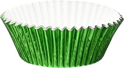 Jubilee Sweet Arts 50 Count Foil Cupcake Muffin Baking Cups, Green
