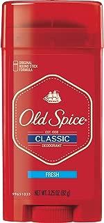 Old Spice Classic Stick Fresh Scent Men's Deodorant, 3.25 Ounce